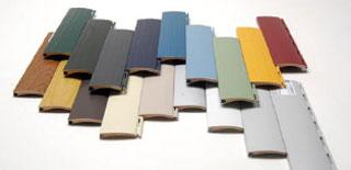 Je nach Profilart, kann aus bis zu 19 Farben der richtige Farbton ausgewählt werden.